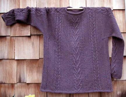 Knitting Patterns For Sweaters In The Round : 13 best images about Top down sweaters on Pinterest ...