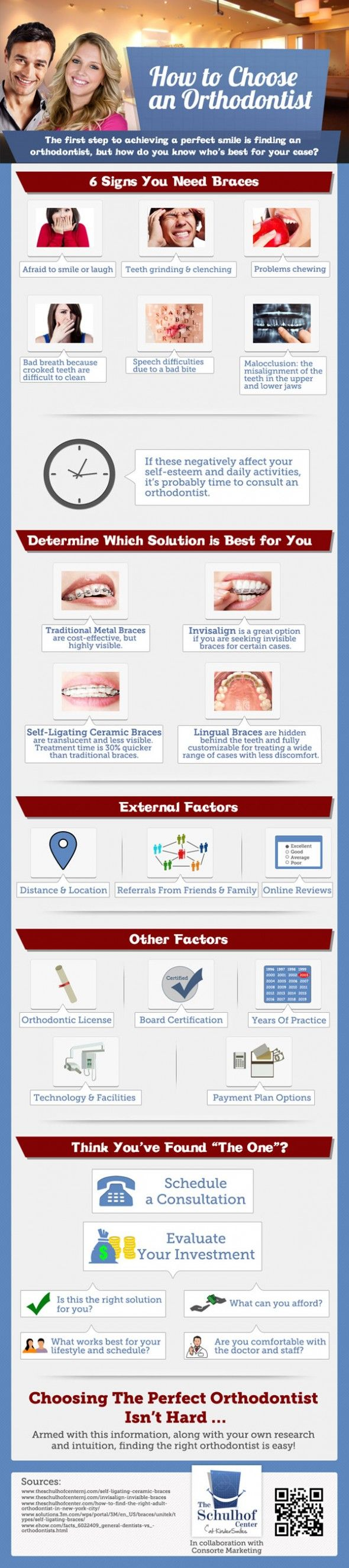 Infographic: How To Choose An Orthodontist