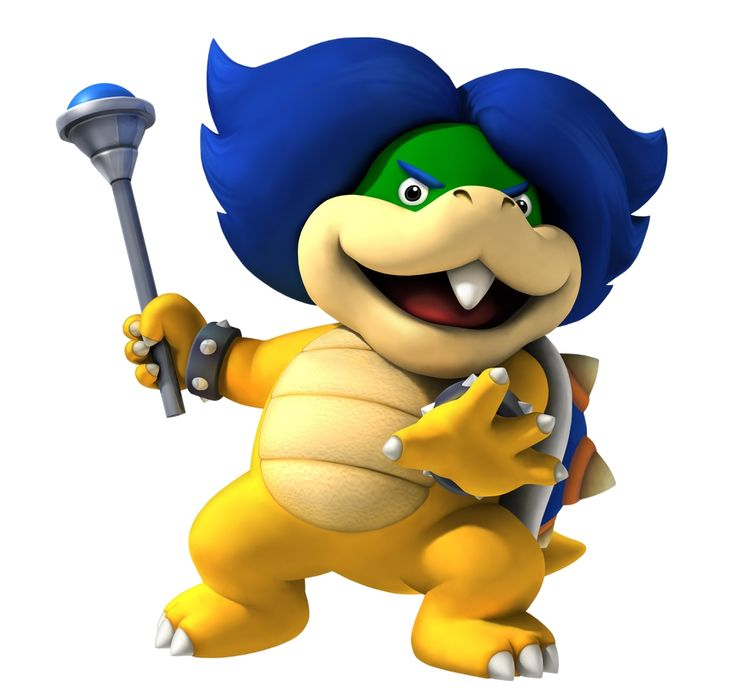 Ludwig von Koopa: I am a genius! My Koopa Klogger is sheer brilliant! Those pain-in-the-drain plumbers won't spoil our evil fun this time!