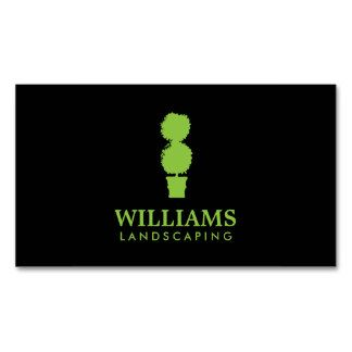 19 best business cards for landscaping lawn care landscapers green topiary plant landscaping business card template personalize the front and back with your own info printed on high quality card stock reheart Image collections