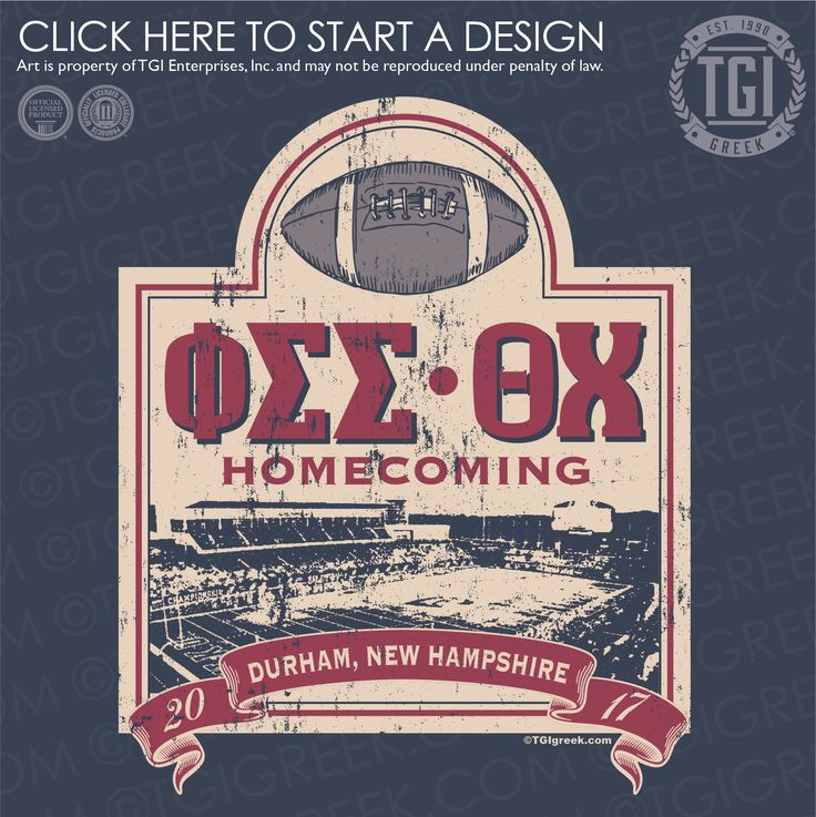 Phi Sigma Sigma | ΦΣΣ | Theta Chi | ΘX | Homecoming | Game Day | TGI Greek | Greek Apparel | Custom Apparel | Sorority Tee Shirts | Sorority T-shirts | Custom T-Shirts