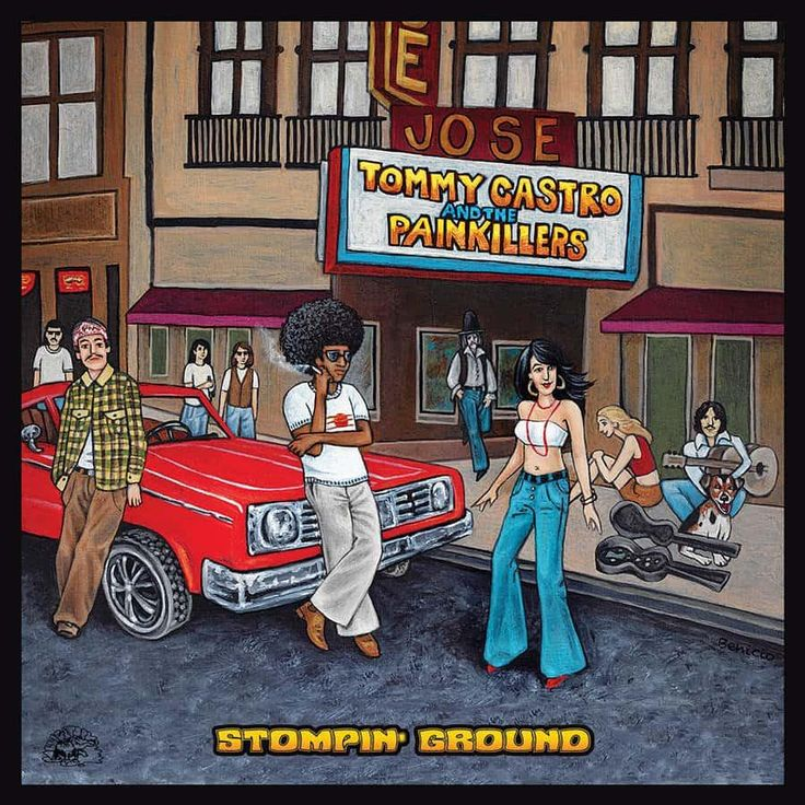 Tommy Castro & the Painkillers - Stompin'Ground (LP) Vinyl