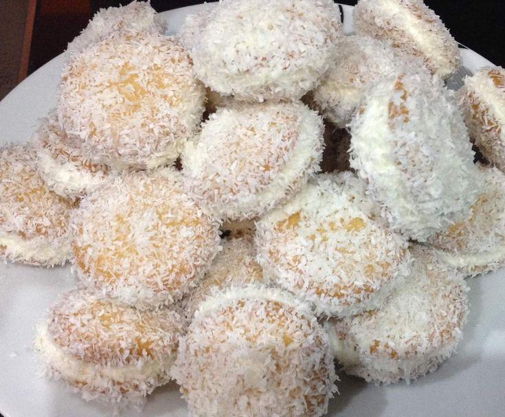 """Rezept """"Schneebälle"""" von Ginger28 - Rezept der Kategorie Desserts"""