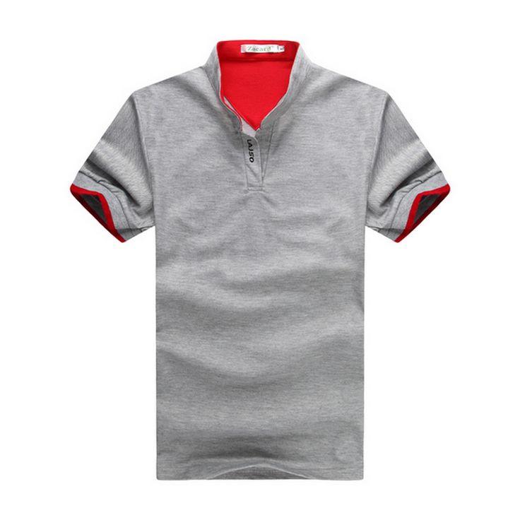 Baru 2016 merek padat pria polo kemeja kasual pria musim panas lengan pendek camisa polo slim fit pria kemeja ukuran m-3xl gratis pengiriman