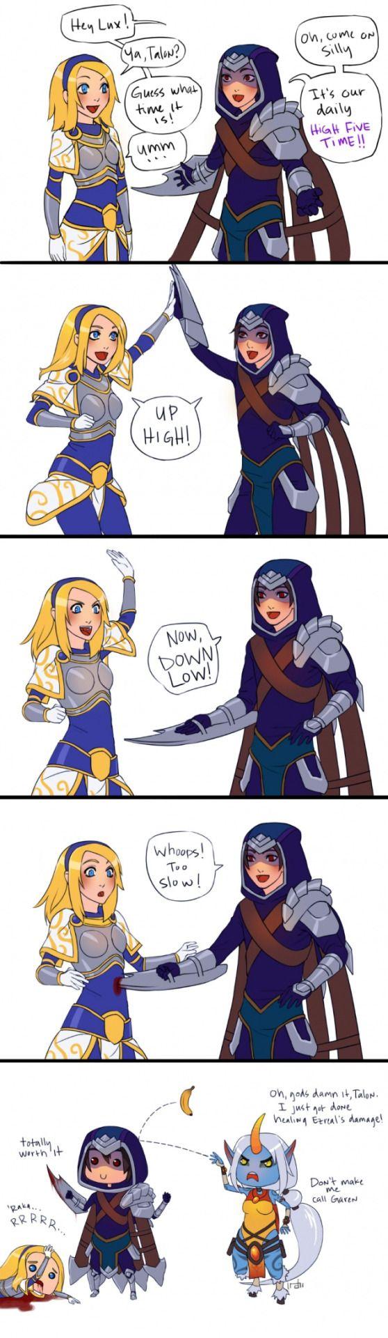 Damn it Talon
