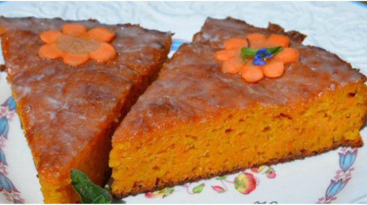 Постный морковный пирогполучается очень вкусный, нежный и с приятным ароматом моркови и грецкого ореха. Казалось …