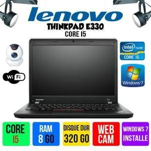 ORDINATEUR PORTABLE PC PORTABLE LENOVO THINKPAD E330 CORE I5 8GO RAM 3