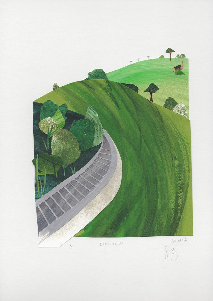 Lostwithiel. Stacey Knights Illustration