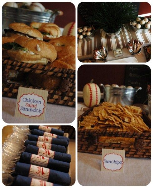 baseball baby shower ideas and decorations | Baseball baby shower- food ideas