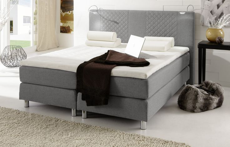 34 besten boxspringbetten das plus an schlafkomfort bilder auf pinterest bett kaufen. Black Bedroom Furniture Sets. Home Design Ideas