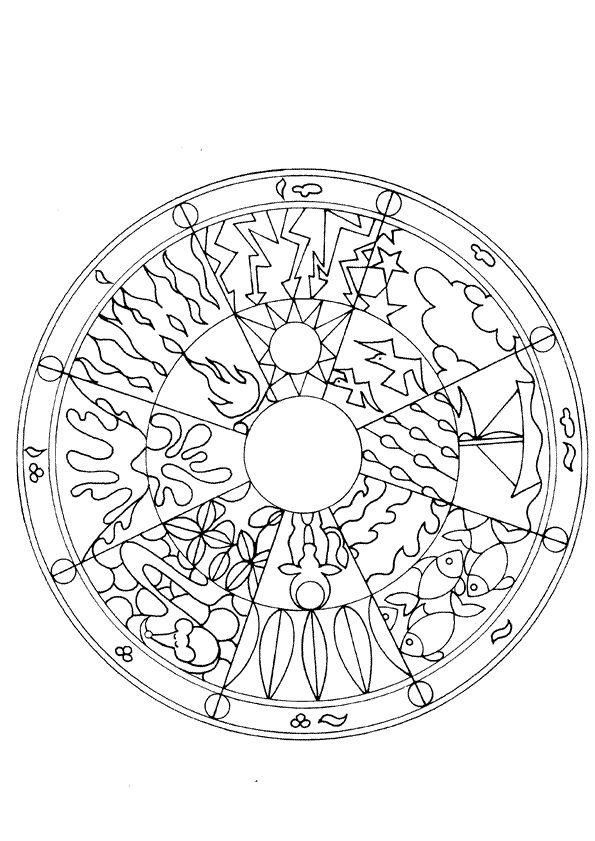 Best 400 coloriages mandala images on pinterest - Hugo l escargot mandala ...