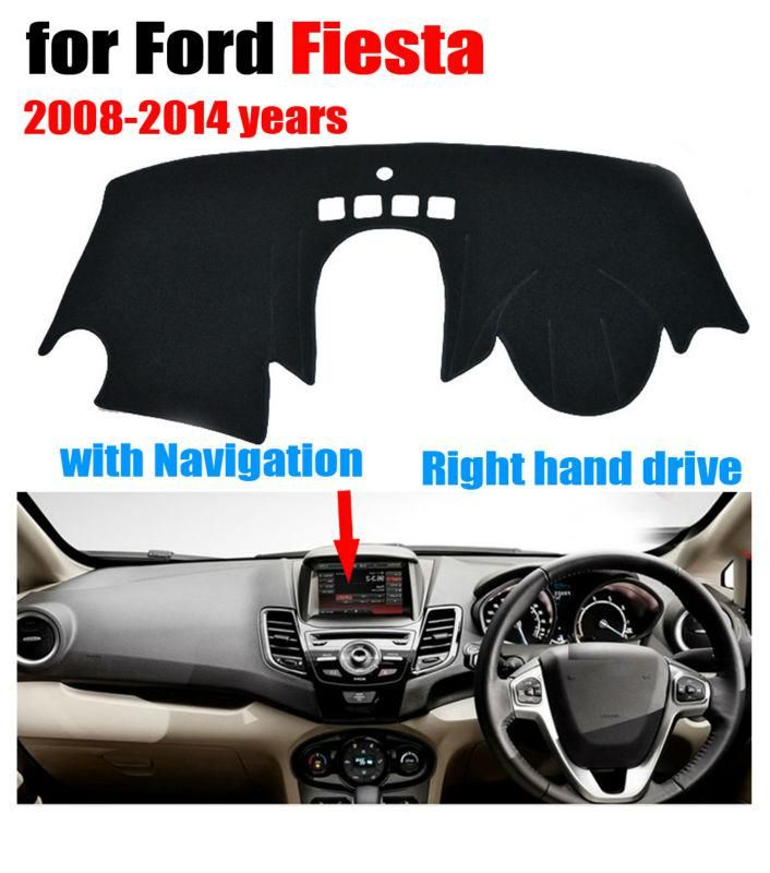 Car Dashboard Covers Mat For Ford Fiesta St With Navigation 2008