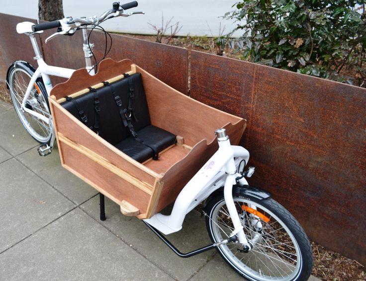 Bullitt - cargo bike sled box side view