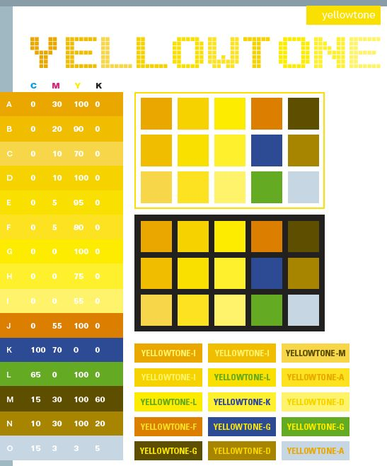 best colour to go with yellow | My Web Value