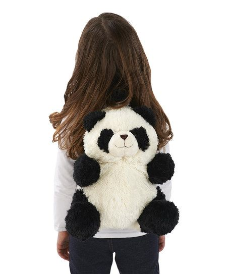 Black & White Panda Backpack