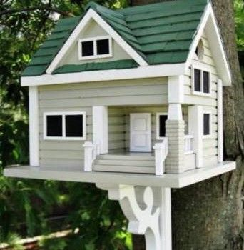 Home Bazaar Bungalow Bird House Distinctive And Functional Birdhouses At Garden