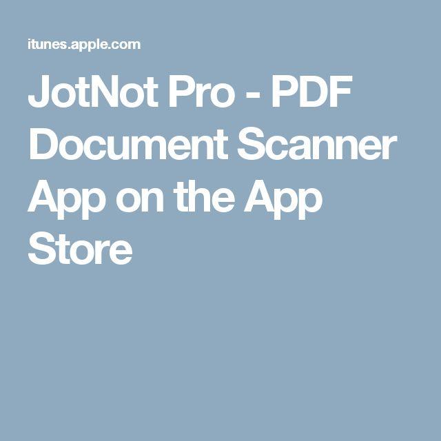 JotNot Pro - PDF Document Scanner App on the App Store