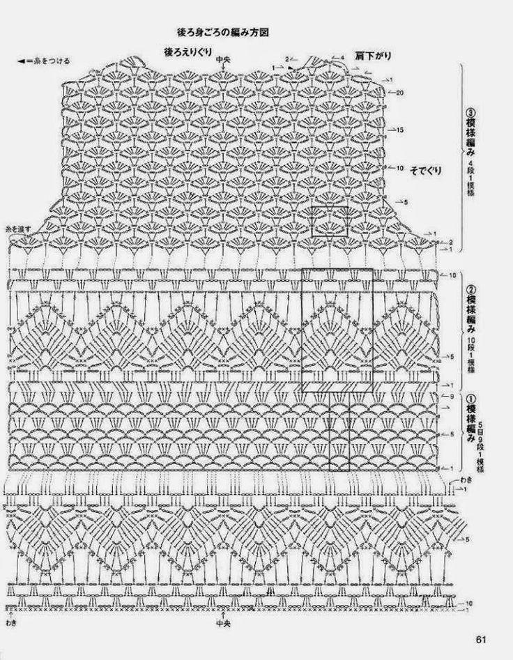 Edna Confecções em Crochê : Vestido longo em Crochê com Gráfico