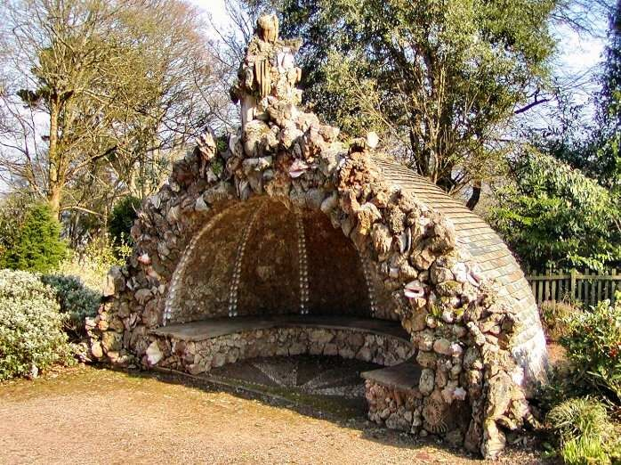 Backyard grotto designs pics backyard grotto mount for Garden grotto designs