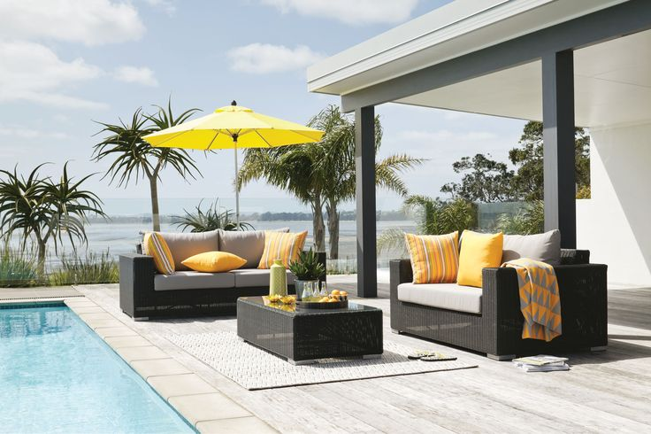 this is definitely going on my gift registry there. Harvey Norman - Magnetic Wicker Lounge Outdoor 3 Piece