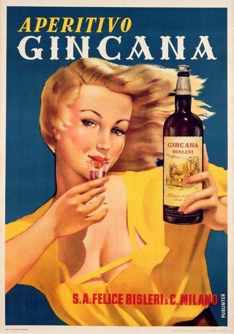 Vintage aperitivo