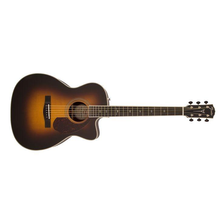 Fender PM-3 Paramount Deluxe Triple-0 Acoustic Electric Guitar in Vintage Sunburst
