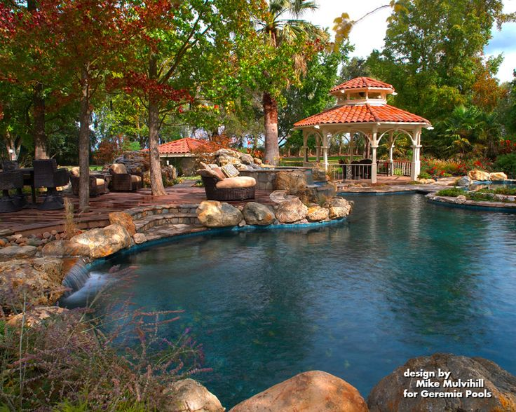 37 best images about outdoor residential pools on