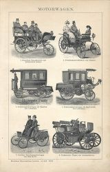 Automobiles  (Motorwagen IV) c.1899