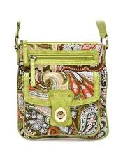 Lime Messenger BagCanvas Handbags, Paisley Messenger, Crafts Ideas, Limes Messenger, Messenger Bags, Funky Fashion, Bags Awesome, Beautiful Bags, Dreams Closets