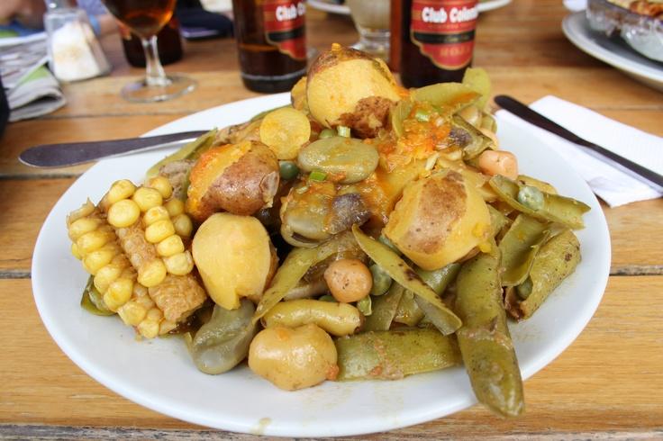 """El plato típico del departamento de Boyacá se llama el """"Cocido Boyacense""""."""