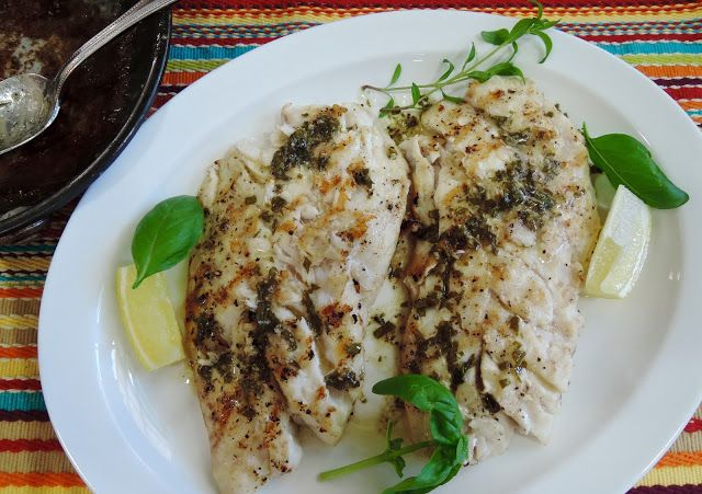 The Briny Lemon: Grilled Red Snapper with Lemon-Herb Butter