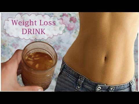 Flat Belly Diet Drink - Get Rid of Unwanted Fat at Your Stomach - YouTube