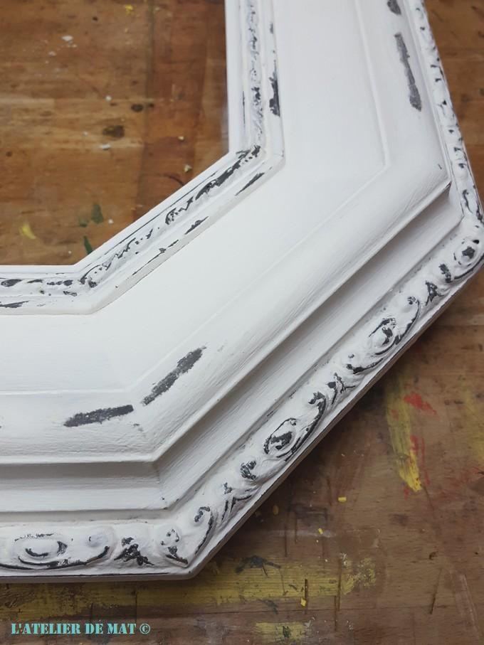 17 meilleures id es propos de miroir shabby chic sur pinterest shabby chic et papier peint. Black Bedroom Furniture Sets. Home Design Ideas