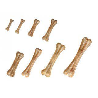 Aus der Kategorie Knochen  gibt es, zum Preis von EUR 39,58  Kauknochen aus Rinderhaut.