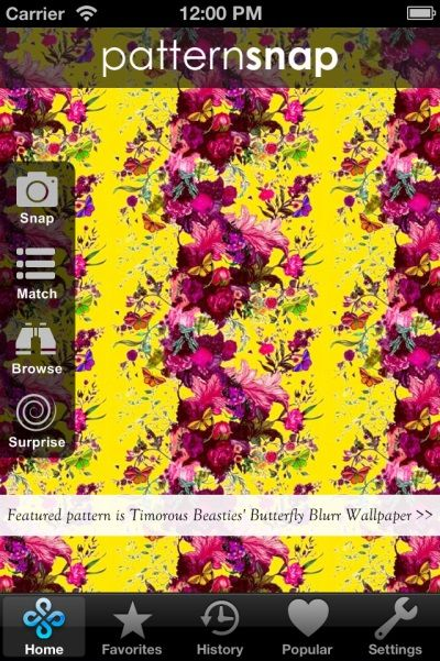 14.5.14 - Today's Featured pattern is Surfacephilia's 'Feather (for Graham & Brown's New Wave Collective)' Wallpaper