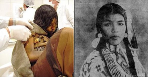 Girl Found Frozen For 500 Years Looks Well Preserved And Alive