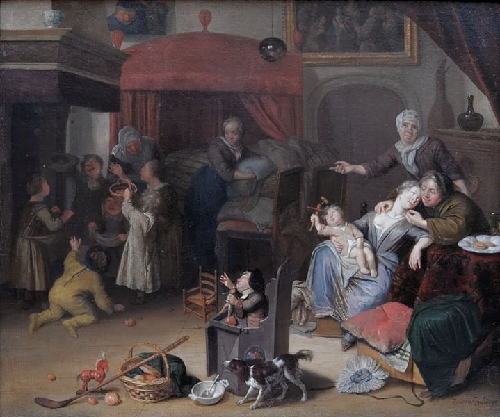 Feast of St Nicholas Richard Brakenburg