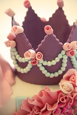 A chocolate crown - perfect.