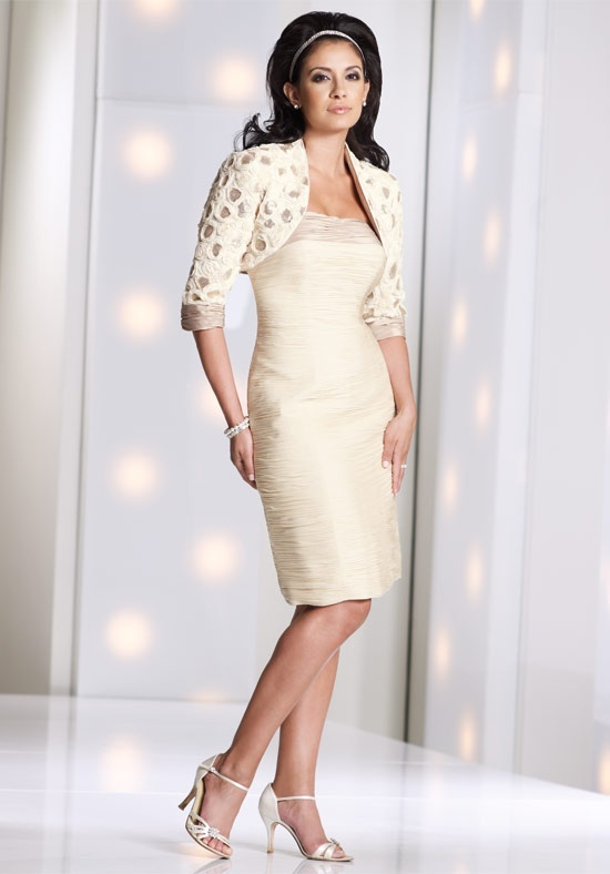 Social Occasions By Mon Cheri Mother of the Bride Dresses - Social Occasions By Mon Cheri Mother of the Groom Dress: Social Opportunity, Grooms Dresses, Mon Cheri Styl, Cheri 113845, Cheri Mothers, Hair Style, Occa 113845, Boleros Jackets, Bride Dresses