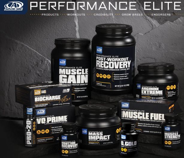 Advocare Performance Elite, It's what the Pros Use. www.advoutah.net