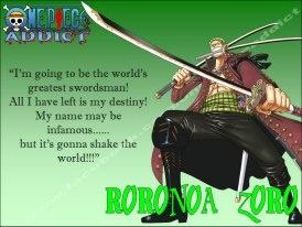 Roronoa Zoro And Change 3 On Pinterest 50 Quotes