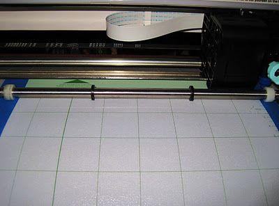 Turn Cricut Mat into Silhouette SD Mat