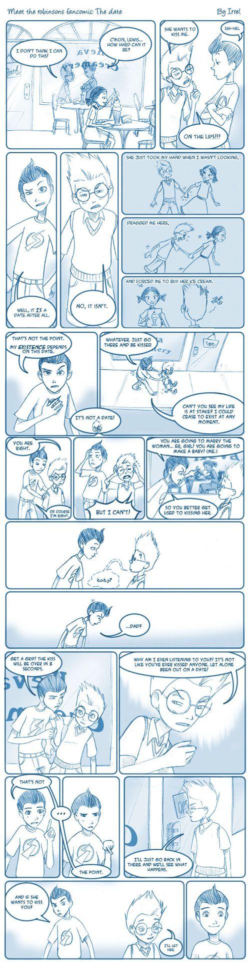 Meet The Robinsons Fancomic by Irrel.deviantart.com