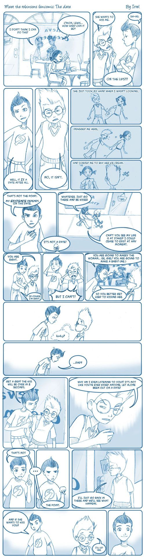 Meet The Robinsons Fancomic by Irrel.deviantart.com