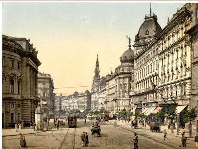 Kondor Vilmos | Budapest noir | 1920 -  Nagykörút Blaha Lujza térnél | #book #crime #budapest