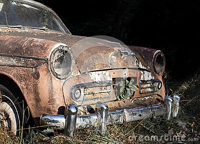 Abandoned Old Car - Download From Over 38 Million High Quality Stock Photos, Images, Vectors. Sign up for FREE today. Image: 62989197