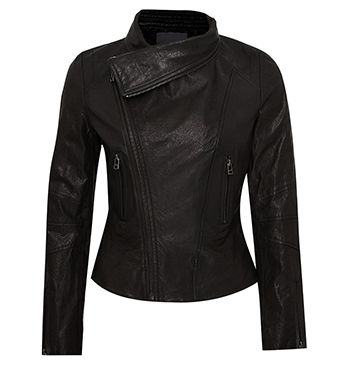 MARCS | New Arrivals - WATERFALL LEATHER JACKET