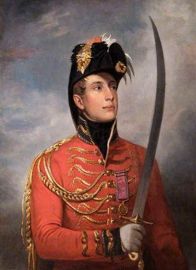 William II (1792–1849), King of Holland, When Prince of Orange, by John Singleton Copley, 1813, English Heritage, The Wellington Collection, Apsley House.