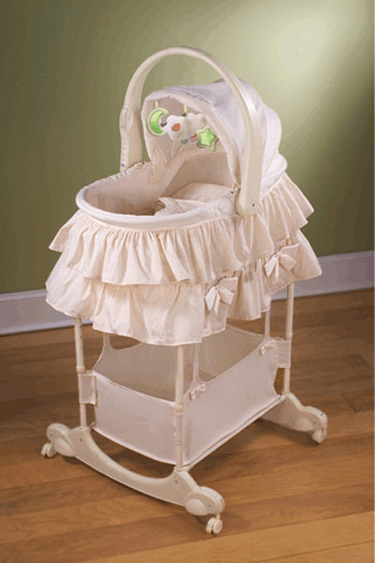 40 best images about bassinet on pinterest child bed co sleeper and baby travel - Bedside table that attaches to bed ...