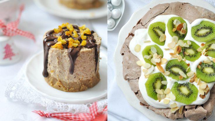 Gyönyörű last minute karácsonyi sütik: mini sajttorta és a karácsonyi pavlova - NLCafé